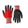 Handschoen Ultimate Flex Pro rood/zwart