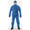 Hooded coverall AlphaTec® 1500 Plus model 111 blue size M