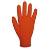 Glove disposable Finite® orange HD