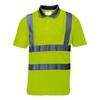 Warnschutz-Polo-Shirt S477 kurzärmlig