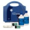 Double Eye Wash Station in Blue/Blue Integral Aura Box