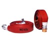 Type 3 Fire Hose Layflat Complete with Light Alloy Couplings