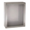 Wall mounting enclosure, stainless steel S3X