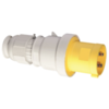 Industrial trailing Plug With Multi Grip Cable Gland IP44