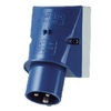 Wall mounted appliance inlet IP44
