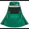 Chemmaster Headgear c/w Neck & Shoulder Cape, Visor with Apron Front