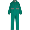 Coverall PVC Chemsol Plus CPBHEWR Green