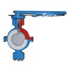 Wafer type butterfly valve ASME 150 ductile iron NB BTV2000