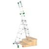 Ladder combination Aluminium 10+11+11 rungs
