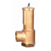 Safety relief valve with sealed cap, LGS HI-FLOW