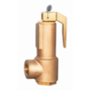 Safety relief valve with open lever, LGS HI-FLOW