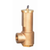 Safety relief valve with sealed cap, LGS
