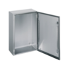 Stainless steel wall mounted enclosure IP66