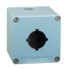 Control Station XAPM Empty Blue 1 Cut-Out 80X80mm Front plate