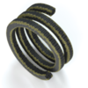 Graphite/PTFE, Silicone core and aramid, reinforced braiding