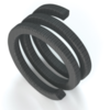Flexible graphite with cotton fibre and Inconel wire reinforcement