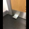 Foot Plate Door Opener Zinc Finish