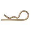 DIN11024 Haarspeldveer enkel Staal elektrolytisch verzinkt geel gepassiveerd