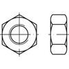 Hexagon full nut BA Brass