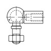 DIN71802 Kogelgewricht met rechtse inwendige schroefdraad Staal elektrolytisch verzinkt