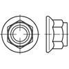 DIN6926 Zelfborgende flensmoer met nylon insert Roestvaststaal (RVS) A2