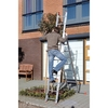 Domestic combination ladder aluminium two- or three-piece ALL ROUND