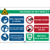 Pictogram COVID-19 General safety information (Dutch version)