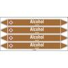 Leidingmerker alcohol250x26mm (4st/kaart)