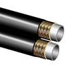 """Kunststof slang 06,3/8"""", 1 staal inlagen, twin versie, pinpricked"""
