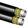 Kunststof slang SAE 100 R8, 2 textiel inlagen (aramide), twin versie, pinpricked