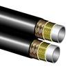 Kunststof slang , 1 staal inlagen + 1 textiel inlagen (aramide), twin versie, pinpricked