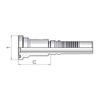 SAE flange hose coupling - FLH FL 3000 PSI