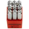 Set of 9 figure punches type no. 293A