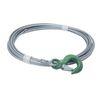 Câble pour treuil manuel équipé de crochet soupapeDIN 3060