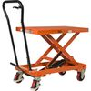 Manual mobile lifting table HT