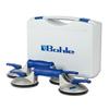 Coffre 2x ventouse alu 2-têtes - 60kg Parallèle - Veribor Blue Line