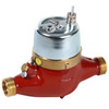 "Watermeter fig. 8213 continue load 1,5m³/h 10liter/pulse bore 15mm 3/4""BSPP"