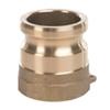 Cam & Groove ERITITE adapter type A brass