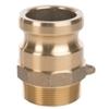 Cam & Groove ERITITE adapter type F brass