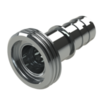 Hose coupling AISI 316 with male thread (male part) type SHM DIN 11864-1 GS, Form A; size according to ISO