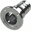 Hose coupling AISI 316 with liner flange type SHFF DIN 11864-2 BF, Form A; size according to ISO