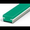Profiel Multilene PE-MR Groen CF 20x20x10x14mm 2000mm