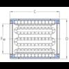 Linearkugellager geschlossen korrosionsbeständig beidseitig abgedichtet LBBR 25-2LS/HV6
