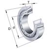 Single row tapered roller bearing metric