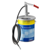 Manual grease pump for 18 kg portable LAGG 18M