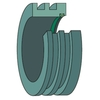 Labyrinth seal for large SNL plummer block housing TS 28