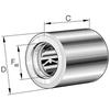 Vrijloopkoppeling met lagering serie HFL..-KF