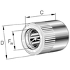 Vrijloopkoppeling met lagering serie HFL..-KF-R