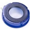 Einddeksel open met DR-afdichting voor V-Lock® bevestiging type CVDR