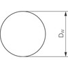 Chromium steel ball DIN 5401 grade G40